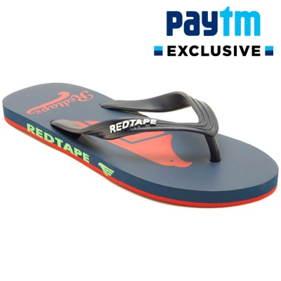 PayTM: Red Tape Men's Casual Flip Flop – FLAT 70% Cashback + FREE Shipping