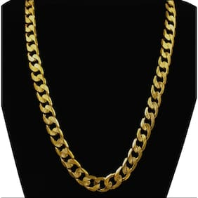 Men S Gold Plated Heavy Chain