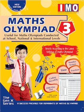 International Maths Olympiad - Class 3(With OMR Sheets)