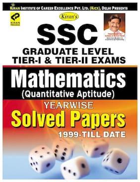 Kiran SSC Graduate Level Tier I & Tier II Exam Mathematics (Quantitative Aptitude) Yearwise Solved Papers English (2683)