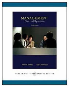 Management Control Systems 12/E