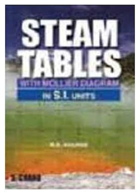 Steam Tables with Mollier Diagram