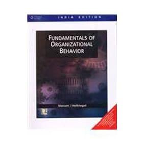 FUNDAMENTALS OF ORGANIZATIONAL BEHAVIOR 1st Edition