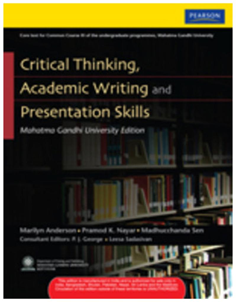 critical thinking academic writing and presentation skills guide pdf