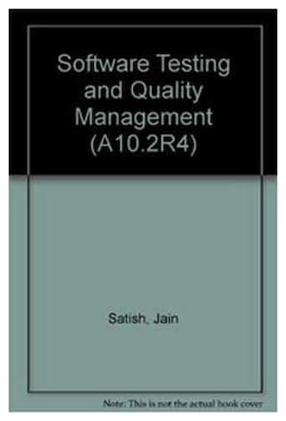 Software Testing and Quality Management A - Level PB