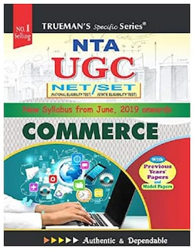Truemans UGC NET/SET Commerce 2019 Edition New Syllabus