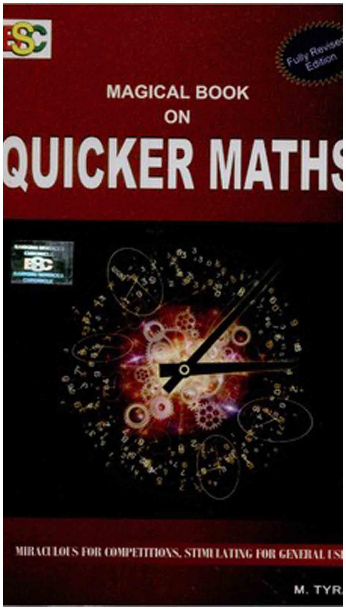 Book quicker mathematics