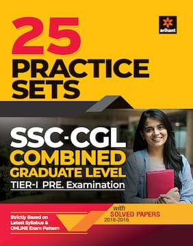 25 Pratice Sets SSC-CGL Combined Graduate Level Tier-1 Pre Examination