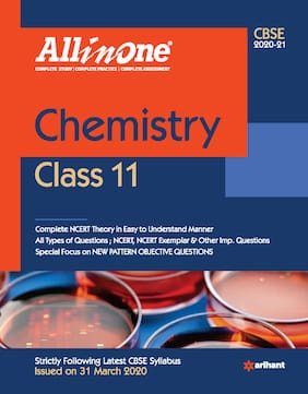 CBSE All In One Chemistry Class 11 for 2021 Exam