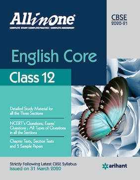 CBSE All In One English Core Class 12 for 2021 Exam