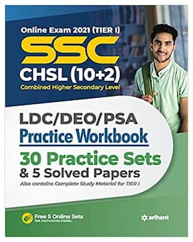 SSC CHSL (10+2) Tier I Practice Workbook (2021)
