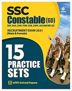 15 Practice Sets SSC Constable GD 2021 (English)