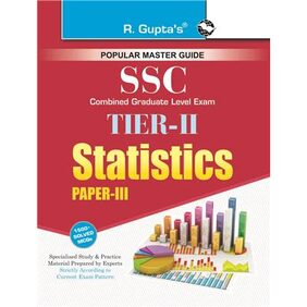 SSC: Combined Graduate Level Exam Tier-2 (Paper-3) Statistics Guide