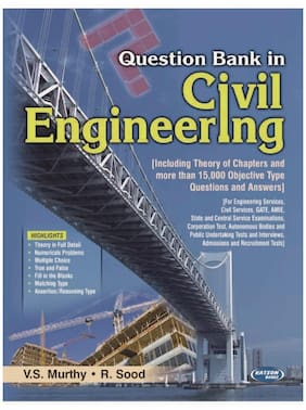 Question Bank in Civil Engineering 3rd/e {PB}