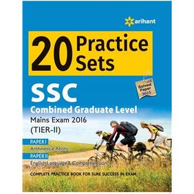 20 Practice Sets - SSC Combined Graduate Level Tier-2 (Mains Exam)
