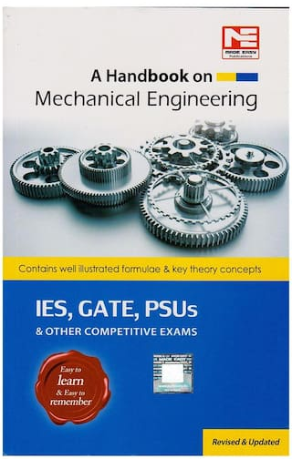 A Handbook on Mechanical Engineering By Made & Easy Publications For ESE,  GATE, PSUs