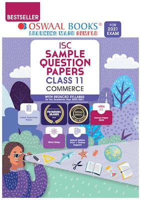 Oswaal ISC Sample Question Paper Class 11 Commerce Book (For 2021 Exam)