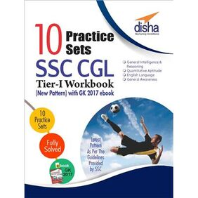 10 Practice Sets SSC CGL Tier 1 Workbook
