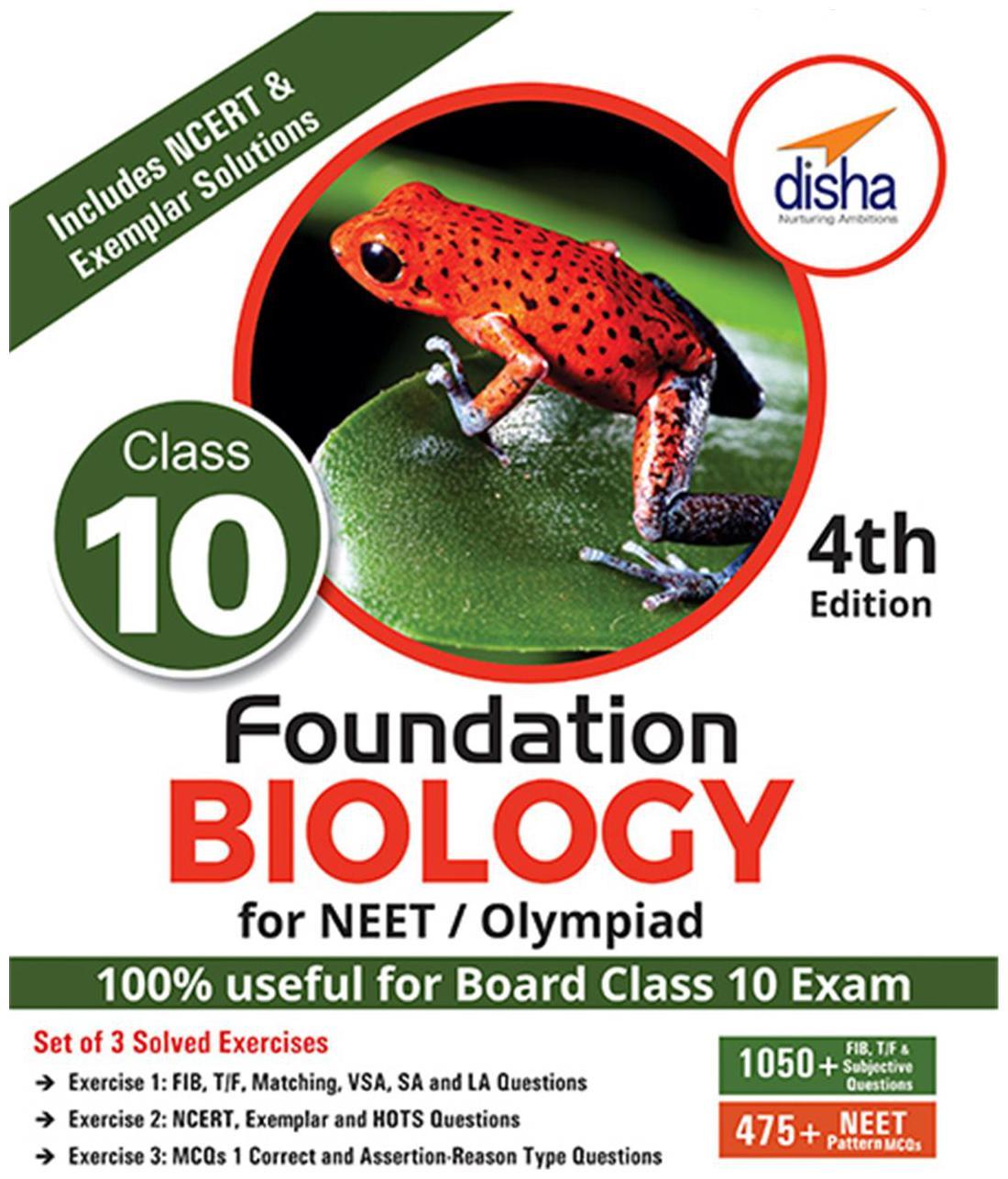 Foundation Biology For NEET/ Olympiad Class 10