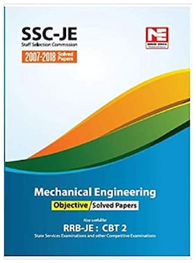SSC (RRB-JE) : Mechanical Engineering Objective Solved Papers