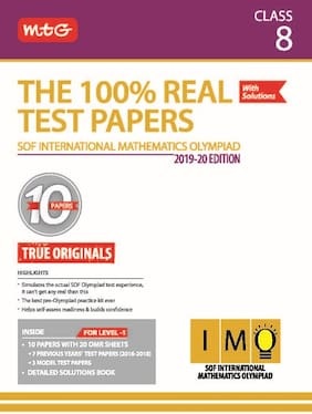 The 100 Percent Real Test Papers (IMO) Class 8