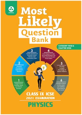 Most Likely Question Bank for Physics: ICSE Class 9 for 2021 Examination