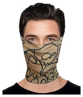 10 in1 Multifunctional Unisex Bandana;Headwrap;Balaclava Free Size(Assorted Design and color)