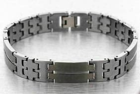 12mm TUNGSTEN CARBIDE BRACELET MENS SMOOTH LINK HIGH POLISH AND MATTE FINISH NEW