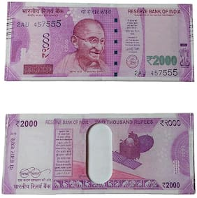 2000 rupees note wallet pink colour