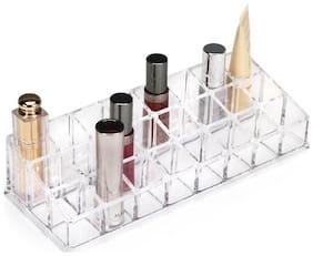 24 Grid Lipstick Shelf Stand Holder Lipstick Stand Vanity Box  (Multi Coloir ) 1Pc