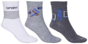 3 Pairs Multi Color Comfort Ankle Socks