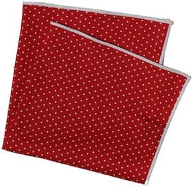 69th Avenue Cotton Pocket Square - Red