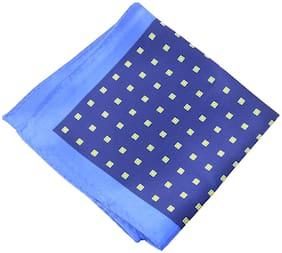 69th Avenue Satin Pocket Square - Blue