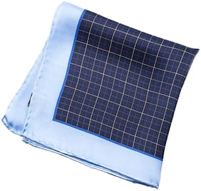 69th Avenue Silk Pocket Square - Blue