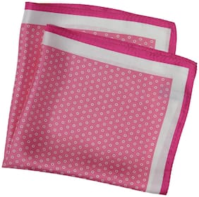 69th Avenue Silk Pocket Square - Pink
