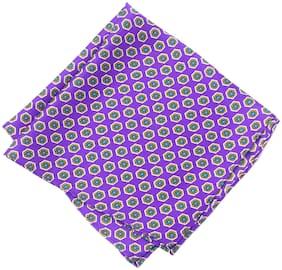 69th Avenue Silk Pocket Square - Purple