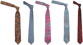 92elmnts Neck Tie set of 5 partywear