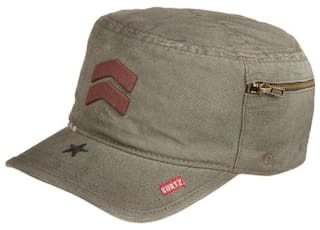 Buy A.Kurtz Mens Fritz Oiled Baseball Cap Military Green Medium ... 4a1dfa302225