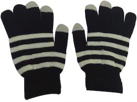 Aadikart Unisex Wool Glove - Black