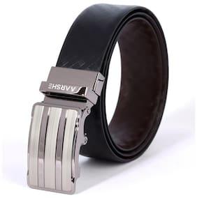 AARSHE Italian Leather HONEY Autolock Buckle Reversible Belt