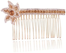 AccessHer AccessHer Wedding and Party Wear Bridal hair Accessories Hair Clip/Comb Pin/ Jooda Pin For Girls And Women