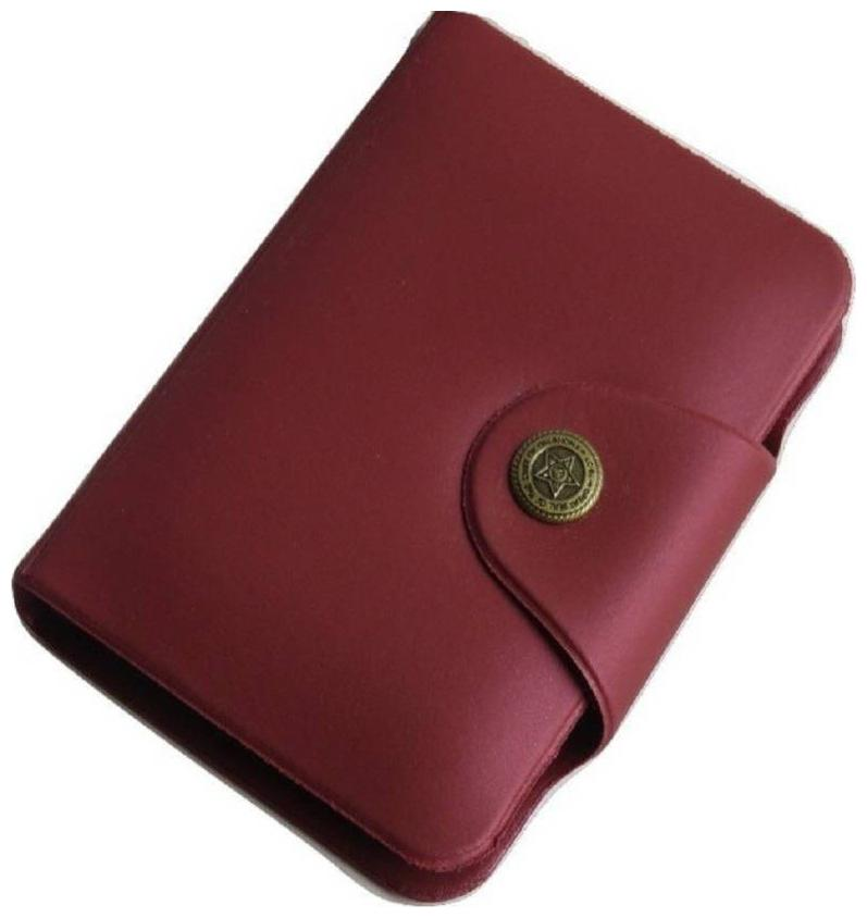 Accezory Artificial Leather Stylish Atm Debit   Credit Card Holder  10 Card Slots