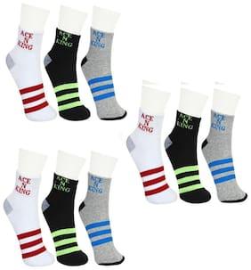 Ankle Length Socks Pack of 9