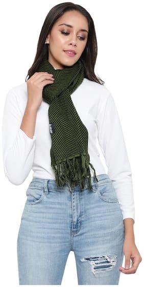 ARADO Women Wool Mufflers - Green