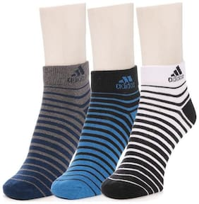 ADIDAS ANKLE LENTH SOCKS PACK OF 3