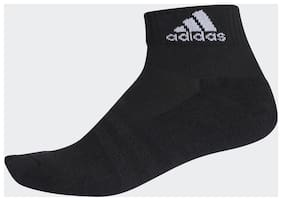 Adidas Cotton Black Ankle Length Socks For Unisex