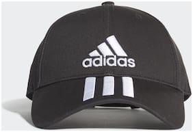 Adidas Cotton Black Cap For Unisex