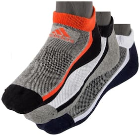Adidas Flat Knit Low Cut Ankle Length Socks For Men