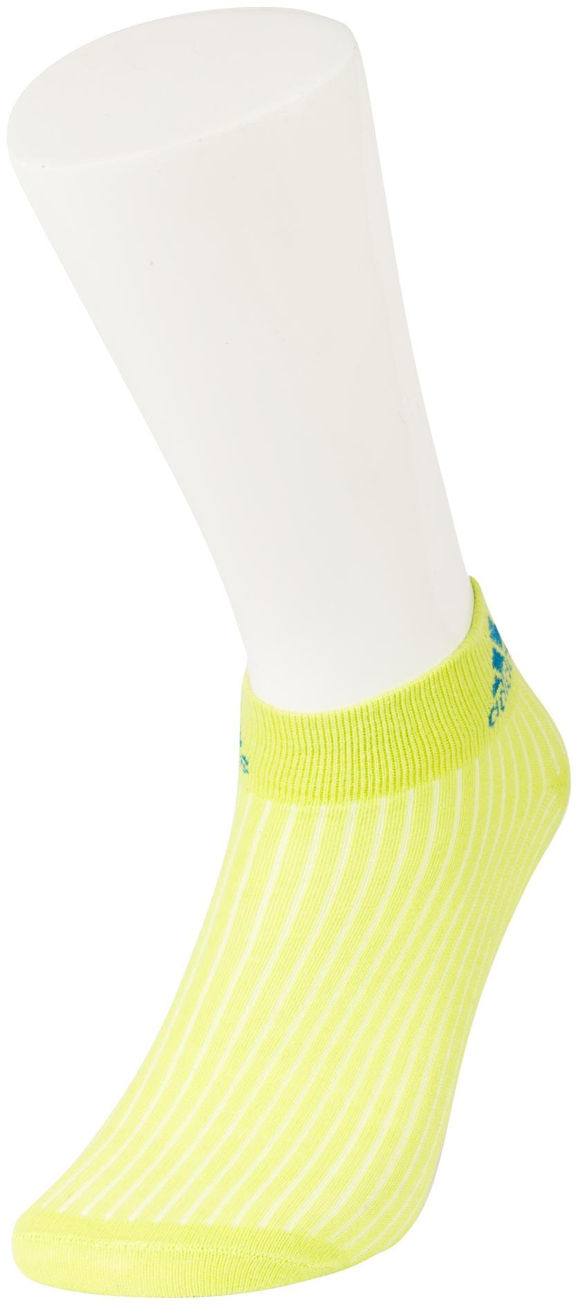 Adidas Green Colour Casual Ankle Length Socks For Women