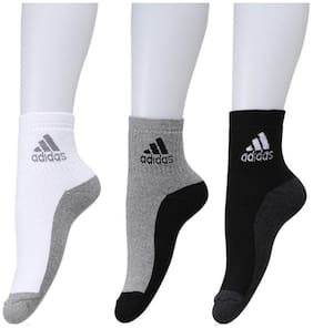 Adidas Men's Ankle Length Socks( pack of 3)